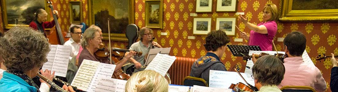 Conwy Ensemble Rehearsal