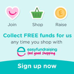Raise FREE funds for us every time you shop with easyfundraising